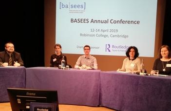 A BASEES 2019 konferencián adtak elő a Ruszisztikai Központ kutatói