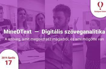 MineDText — Digitális szöveganalitika