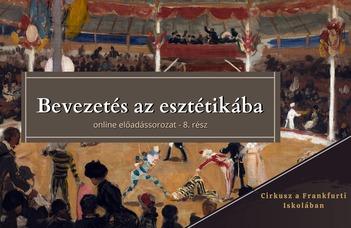 Az ELTE Esztétika Tanszék sorozatában Teller Katalin tart előadást.