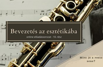 Az ELTE Esztétika Tanszék sorozatában Pintér Tibor tart előadást.