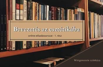 Az ELTE Esztétika Tanszék új sorozatában Darida Veronika tart előadást.