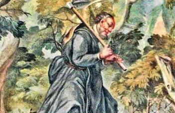 Baán Izsák előadása Szent Günterről a Magyar Hagiográfiai Társaság eseményén.