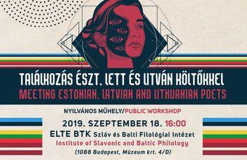 Balti Költészeti Fesztivál három helyszínen.