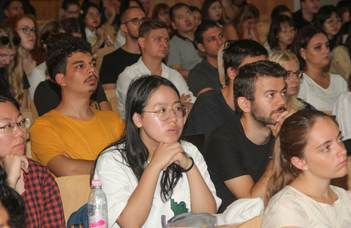 More than 400 international students at the Faculty of Humanities