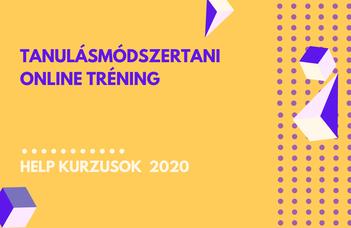 2020/21 ősz | Tanulásmódszertani online tréning