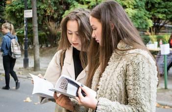 Tájékoztatónap a bölcsészképzés iránt érdeklődő középiskolások számára.