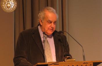 Pavlos Kalligas professzor vendégelőadása a Filozófia Intézetben.