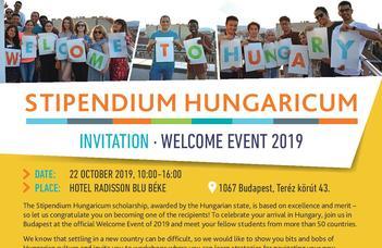 Stipendium Welcome Event 2019