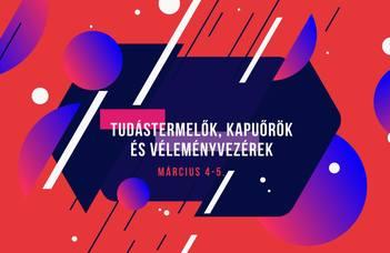 """Az ELTE és a BME közös konferenciája a """"Kultúra a digitális forradalom idején"""" sorozat keretében."""