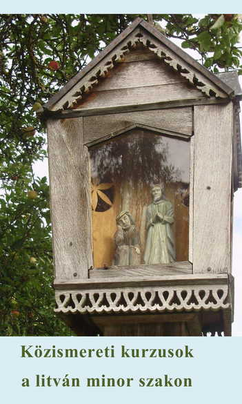 Közismereti kurzusok a litván minor szakon