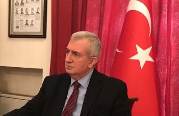 Törökország külpolitikájáról tart előadást Ahmet Akif Oktay.