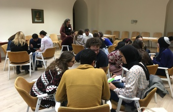 Moments from the first Intercultural Workshop at the Faculty of Humanities