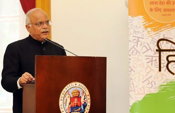 Vinay Sahasrabuddhe visited ELTE Faculty of Humanities