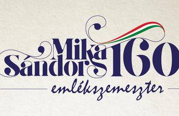 Mika Sándor 160 emlékszemeszter