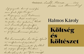 Halmos Károly tanulmánykötetének bemutatója.