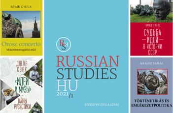 Online mutatják be a Ruszisztikai Tanulmányok Centrum legújabb köteteit.