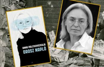Anna Politkovszkaja műve az ELTE Ruszisztikai Központ könyvklubjában.
