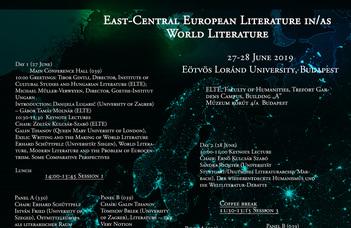 International conference at ELTE BTK.