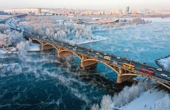 Oroszország és Európa Szibéria-képe