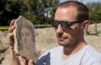 Épen maradt római kori pincét találtak Komáromban (Origo)